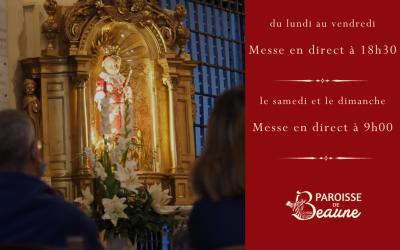 Messe en direct